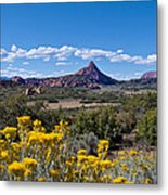 Kolob Terrace Afternoon Metal Print