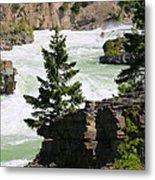 Kootenai Falls In Montana Metal Print