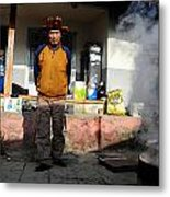 Korean Man Metal Print