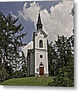Kostel Panny Marie Lourdske Metal Print