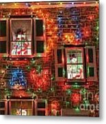 Koziar's Christmas Village Metal Print