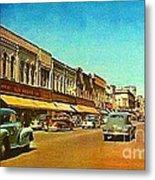 Kresge's Department Store In Oshkosh Wi In 1950 Metal Print