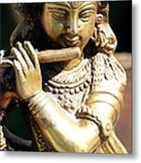 Krishna Song Metal Print