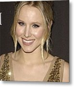Kristen Bell At Arrivals For 12th Metal Print by Everett