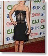 Kristen Bell Wearing A Versus Dress Metal Print by Everett