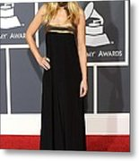 Kristen Bell Wearing An Etro Gown Metal Print by Everett