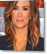 Kristen Wiig In Attendance For The Metal Print