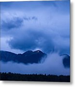 Krvavec Breaks Through After The Rain Metal Print