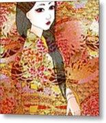 Kyoko Metal Print