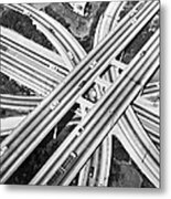 La Freeway Interchange Metal Print
