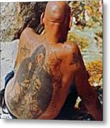 La Ink Man Metal Print