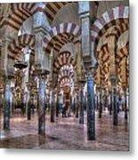 La Mezquita Cordoba Spain Metal Print