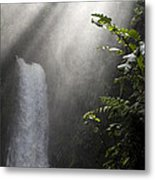 La Paz Waterfall Costa Rica Metal Print