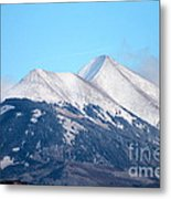 La Sal Mountains 111 Metal Print