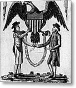 Labor Certificate, 1795 Metal Print