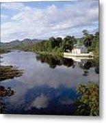 Lackagh River, Creeslough, County Metal Print