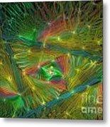 Lacy Rainbow Triangle Metal Print