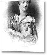 Lady Caroline Lamb Metal Print