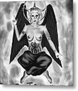 Lady Gaga Baphomet  Metal Print by Kenal Louis