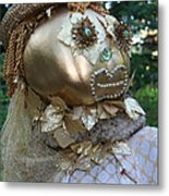 Lady Goldcrow Metal Print