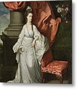 Lady Grant - Wife Of Sir James Grant Metal Print