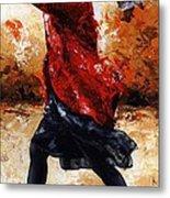 Lady In Red 28 Metal Print