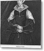 Lady Jane Grey (1537-1554) Metal Print