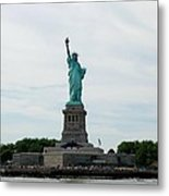 Lady Liberty Metal Print by Beverly Hammond