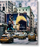 Lafayette And Houston Nyc Metal Print by Chris Lord
