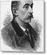 Lafcadio Hearn (1850-1904) Metal Print