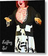 Laffing Sal - Playland At The Beach - San Francisco - 7d14361 - Black With Text Metal Print