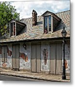 Lafittes Blacksmith Shop Bar New Orleans Metal Print
