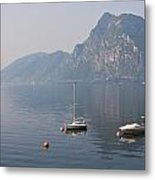Lago Di Lugano Metal Print