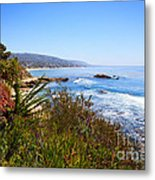 Laguna Beach California Coastline Metal Print