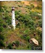 Laguna Beach Light Tower Metal Print