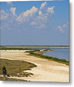 Laguna Madre At Laguna Atascosa Metal Print