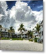 Lahaina Resort In Fort Myers Beach Metal Print by Vicki Jauron