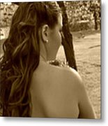 Lainey In A Different Light Metal Print