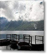 Lake After The Storm Metal Print