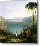 Lake Avernus - Aeneas And The Cumaean Sibyl Metal Print