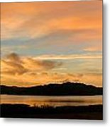 Lake Casitas Sunrise Metal Print