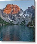 Lake Colchuck Sunset Metal Print