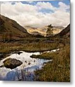 Lake District Reflections Metal Print by Justin Albrecht