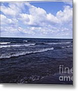 Lake Erie At Evangola State Park 2 Metal Print