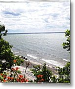 Lake Erie Beach At Sturgeon Point Metal Print