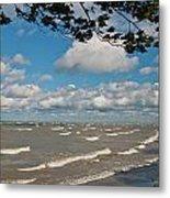 Lake Erie Storm 2371 Metal Print