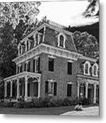 Lake George Farmhouse Metal Print