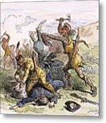 Lake George: Massacre, 1757 Metal Print