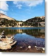 Lake Helen Reflections Metal Print