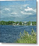 Lake Hood Anchorage Alaska Metal Print